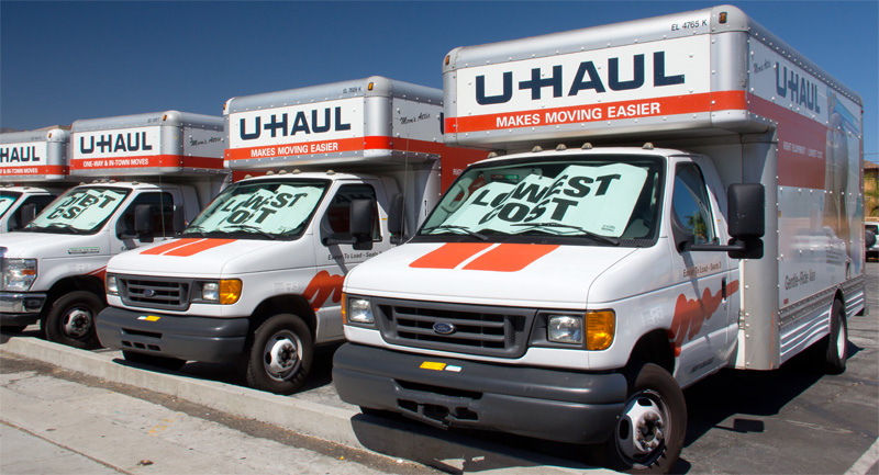 U Haul Moving Truck >> U Haul Trucks